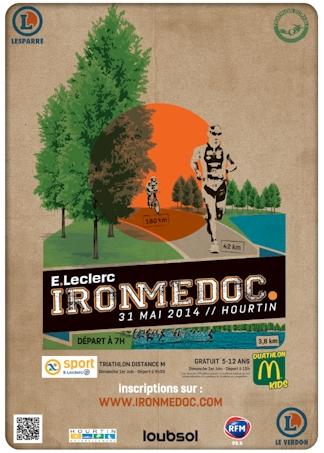 Affiche IronMédoc 2014